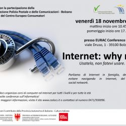 Convegno Internet: why not?